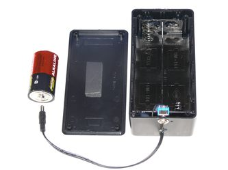 D-cell battery pack for Ebi-fountains